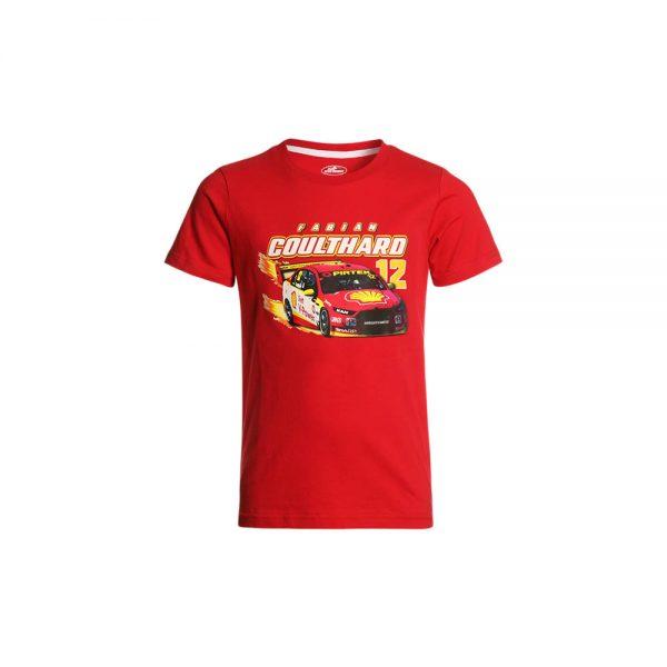 DJR Shell V-Power Kids Youth Car Tee – Coulthard_ (1)