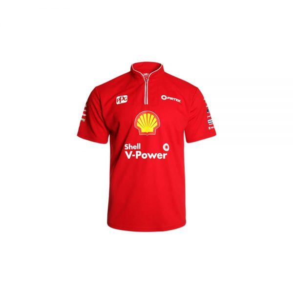DJR170 Mens Shell V-Power drivers tee – Coulthard