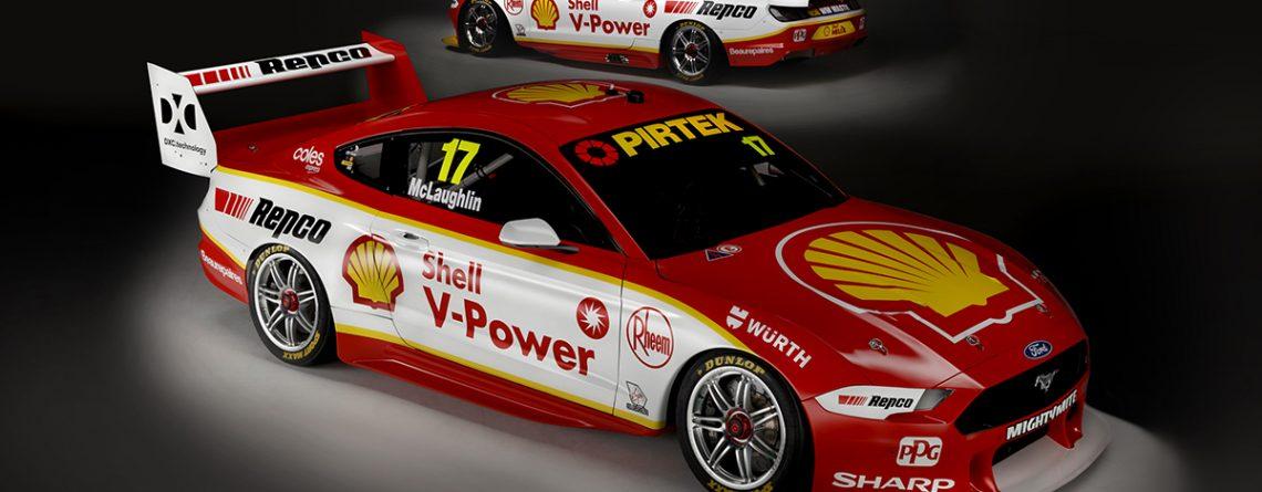 Shell V-Power Racing Team 2019 Livery