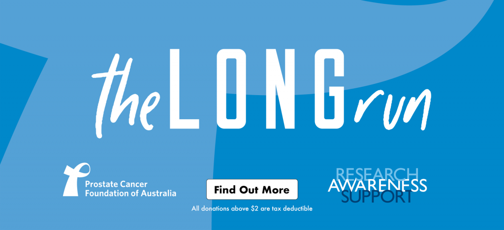 Support the Prostate Cancer Foundation of Australia with a tax deductible donation today!